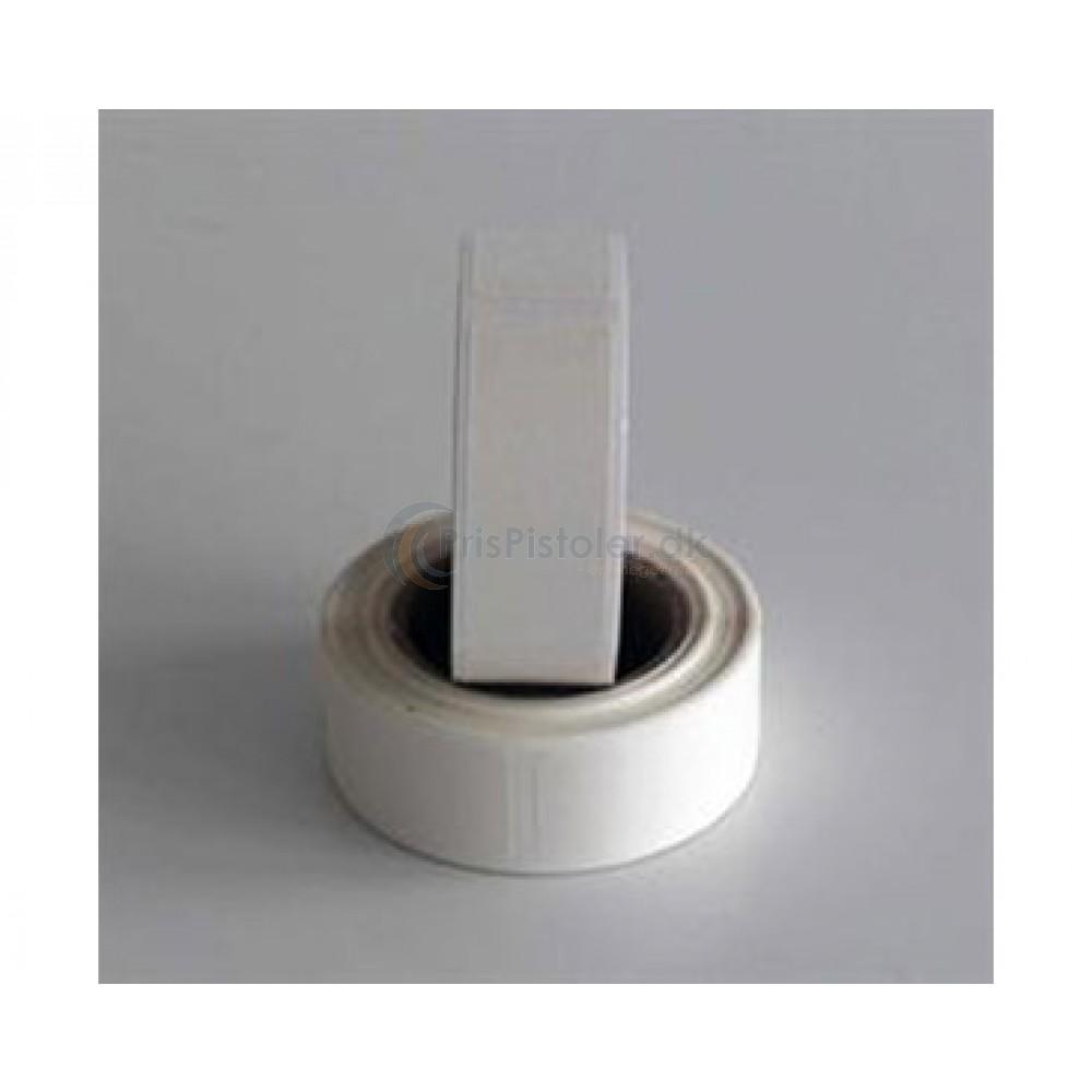 20x50 etiket vandopløselig - Pakke m. 6 ruller