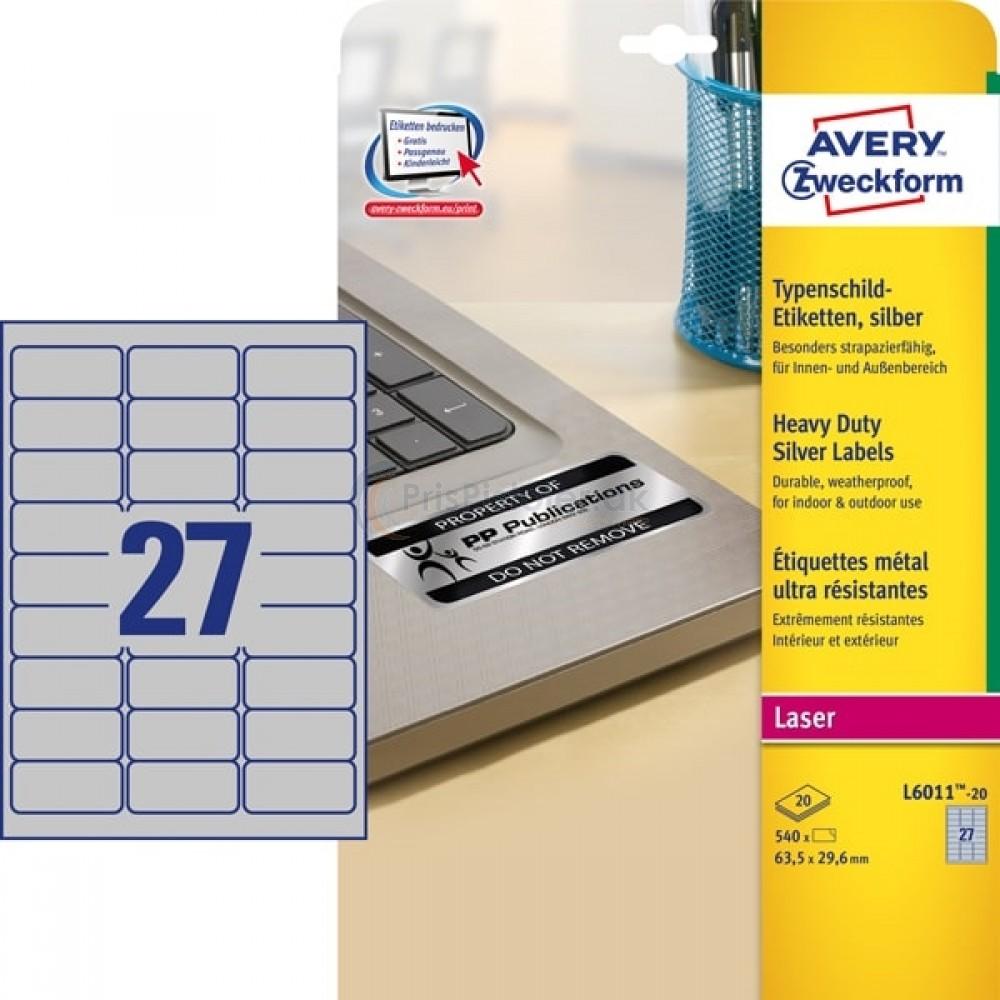 Mærkningsetiketter A4-ark L6011-20