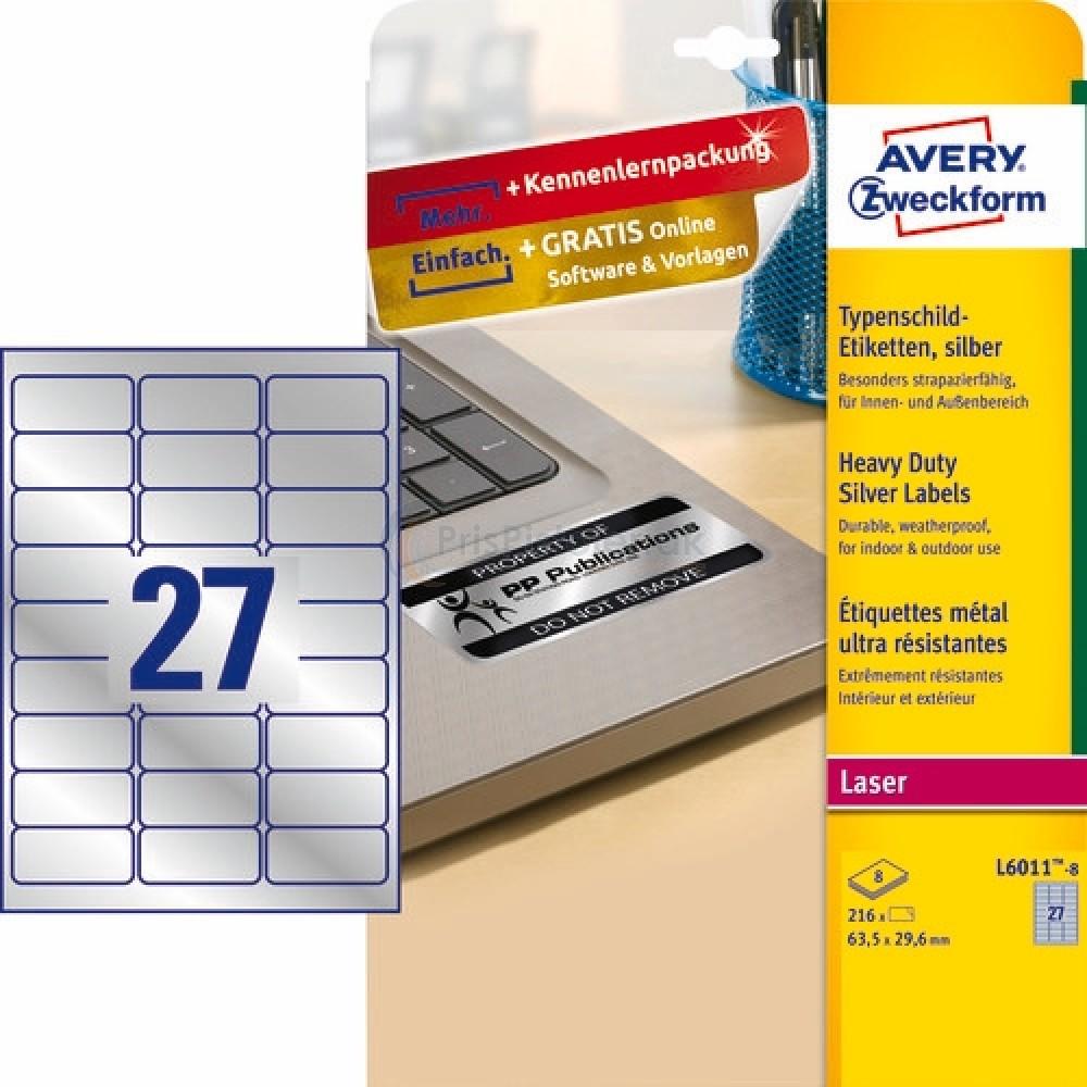 Mærkningsetiketter A4-ark
