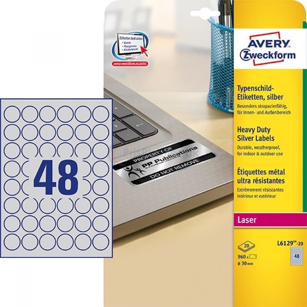 Mærkningsetiketter A4-ark L6129-20