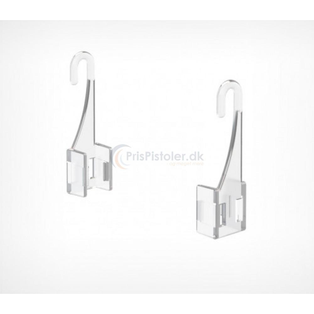 F-clip plastik frame hook til UniLine 40 stk.