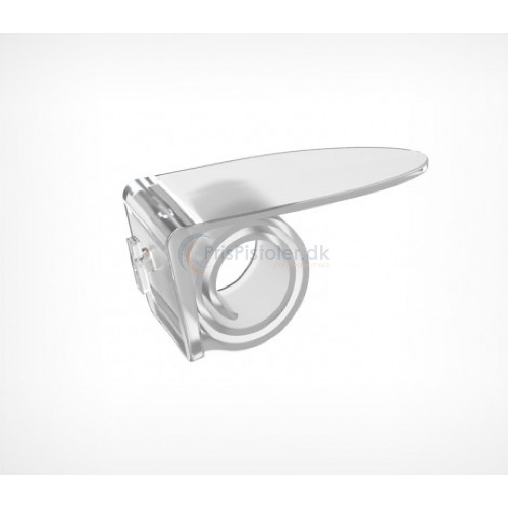 Techno plast coil clip transparent 10 stk.