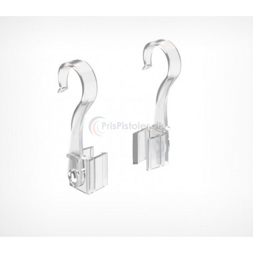 Tube Hook / Rør hænger til plastik ramme 18-24 mm 40 stk.