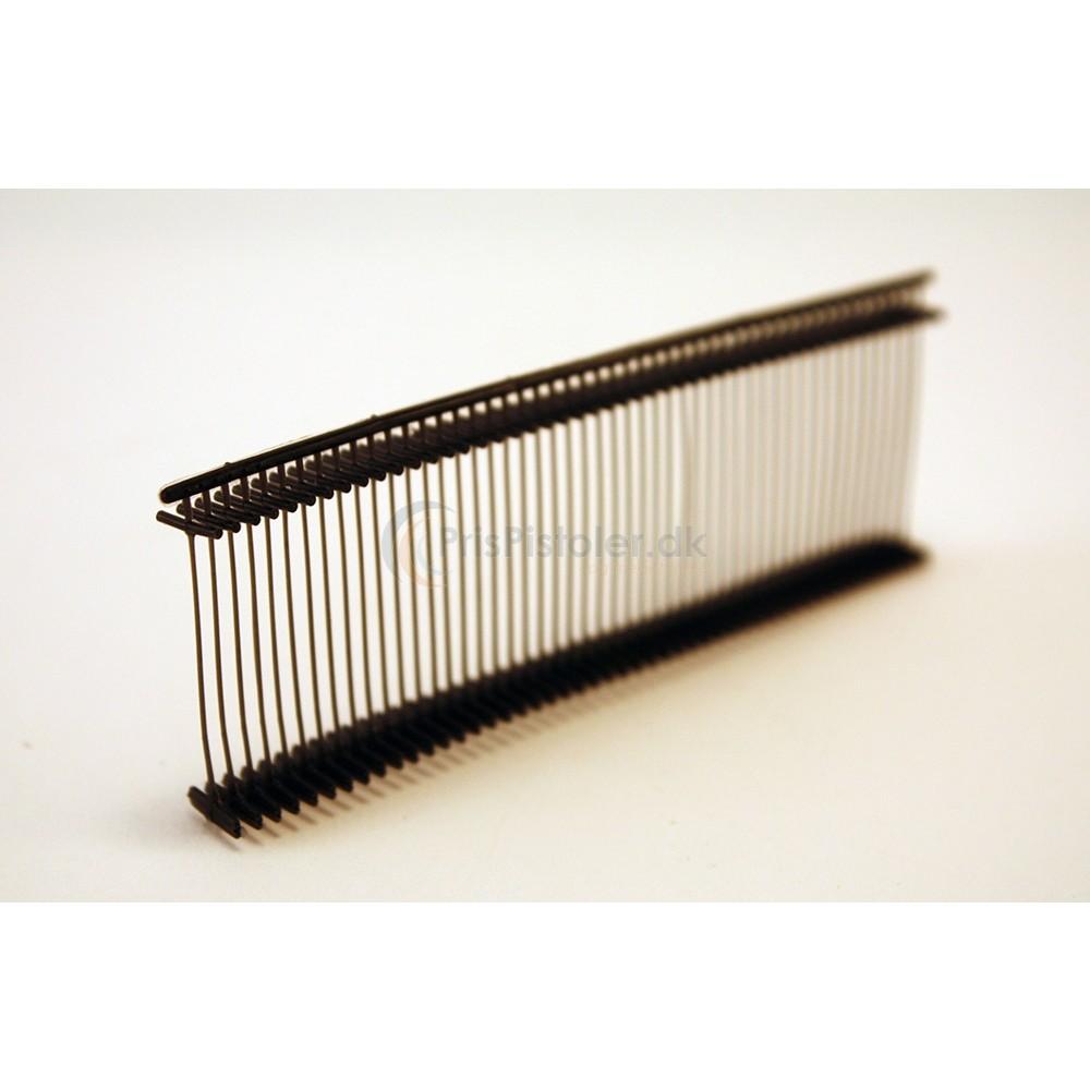 Sorte standard tag-pins – 25 mm længde - 5.000 stk.