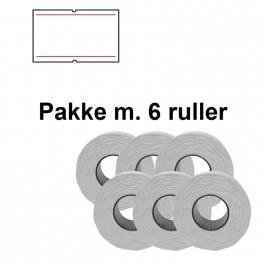 UniversalePrismrker22x12mmpermhvidmedrdestregerPakkem6ruller-20