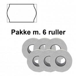 UniversalePrismrker22x12mmaftaghvidPakkem6ruller-20