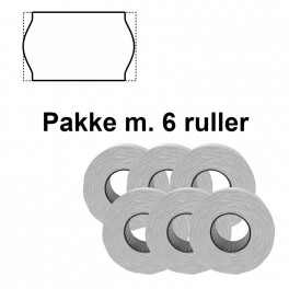 UniversalPrismrker26x16mmpermhvidPakkem6ruller-20
