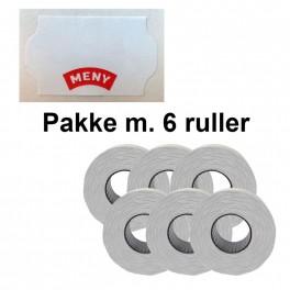 UniversalPrismrker32x19mmpermhvidmedMENYPakkem6ruller-20
