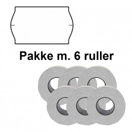 UniversalPrismrker32x19mmaftaghvidPakkem6ruller-20