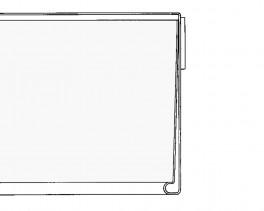 Hyldeforkantslisteklartapepbagsidentransparent39x885mm50stk-20